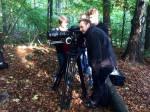 Florent Pallares et Yann Seweryn sur le tournage des Red Eyes Cool